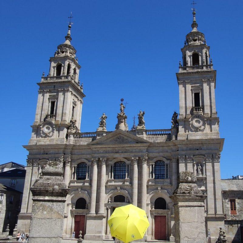 Catedral Lugo fachada