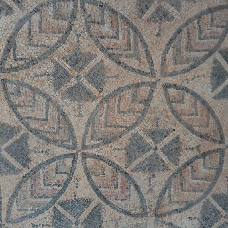 Mosaico romano en Lugo